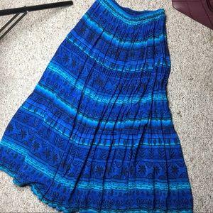 Roughrider by Circle T vintage maxi skirt Medium